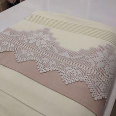 Crochet Edging Patterns, Crochet Borders, Crochet Art, Crochet Doilies, Hand Embroidery, Embroidery Designs, Wedding Cross, Lace Border, Lace Making