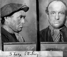 Victorian mug shots. Previously unseen: The exhibition includes some of the earliest mugshots taken of petty thieves including this one of Owen Cavill who was arrested for sheep stealing