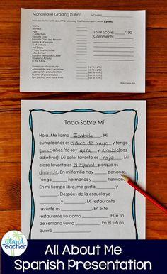 choose your spanish homework: ¿qué te gusta hacer? | homework, Presentation templates