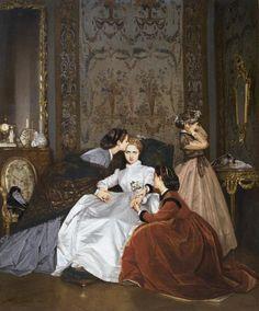 Schon Alte Meister, Malerei, Wahrnehmung, Inspirieren, Dirndl, Kunstgeschichte,  Westliche Kunst,
