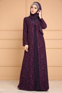 30 Hijabs for Muslim Women Hijab Prom Dress, Muslimah Wedding Dress, Hijab Evening Dress, Evening Dresses, Dress Muslimah, Dress Brokat Muslim, Muslim Dress, Abaya Designs, Abaya Fashion