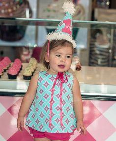RuffleButts | Giovanna Birthday Hat