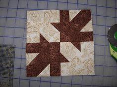 block #63 Ozark Maple leaf