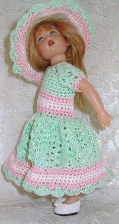 126 Crochet Pattern for Kish Riley 7 1/2 von ThreadsnStitchesUSA