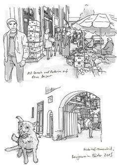 Skizzen, die während meines Comicworkshops in Russland entstanden. #russland #sketches #astrachan