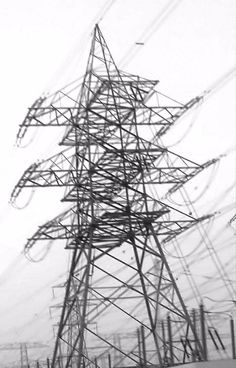 electric cable tower