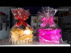 #DIY:faça você mesma a cesta para o presente da Sua Mãe - YouTube