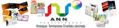 Publicidades en general ( tarjetas personales,estiquer,logos) | Ann Publicidades