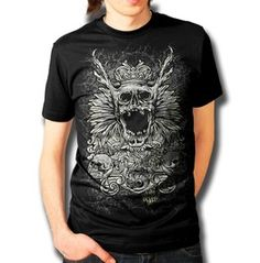 Wicked Caribou - Death King T-Shirt - Available at www.wickedcaribou.com