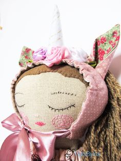 Unicorn doll, Ragdoll, Heirloom doll, Toddler toy, Linen fabric doll, Dress up doll, Fabric doll unicorn, Imaginative play, Gift for girl #unicorn #unicorndoll #ragdoll
