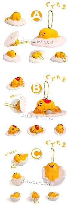 Sanrio Gudetama Squishy Mascot