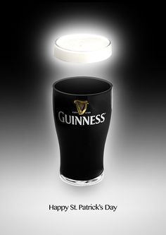 Patrick's Day Print Ad for Guinness on Behance by David Holcroft ( Guinness Advert, Guiness Beer, Irish Drinks, Guinness Draught, Beer Quotes, Beer Art, Pin Up Posters, Drink Signs, Old Ads