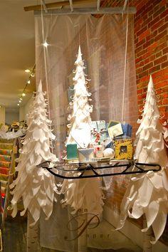 Ingenious paper window displays