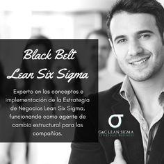 Certificación Black Belt Lean Six Sigma. Contáctanos formacion@gycsigma.co #blackbelt #sixsigma #lean http://gycsigma.co/Black-Belt.html