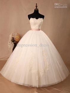 The perfect princess wedding dress.