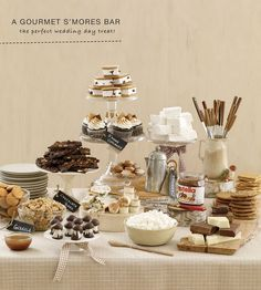 smore dessert table!