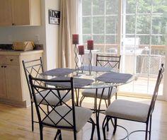 Eating Area - FOR SALE ~ 1503 Brentwood Place Morganton North Carolina - Lake James