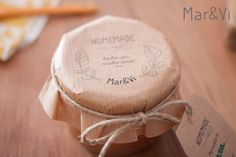 mermeladas para regalar: packaging