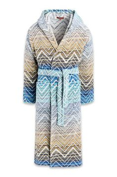 Shop Towels in the Missoni Online Store. Missoni, Beach Towel, Hoods, Stripes, Cotton, Shopping, Towels, Design, Unisex