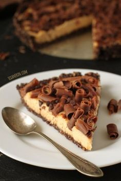 Grain-free Healthy Peanut Butter Pie  - looks SOOOO delish - and more allergy-friendly treats await you here!  Use almond butter if need be - and dairy free cream cheese for a vegan option.