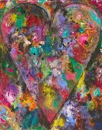 Blue Birds by Jim Dine 2014 and other beautiful artwork.
