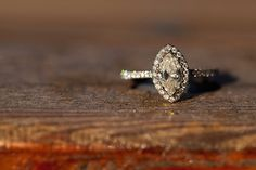 Engagement Ring Inspiration! We love this #rustic engagement shoot via Heart Love Weddings. Photo by Deborah Zoe.