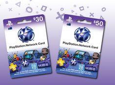 psn cards