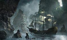 Корабль Летучий Голландец интересные факты, а также другие корабли призраки