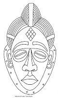 ANA EDUCARTE: Máscaras Africanas