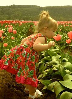 Soo cute with flowers.....