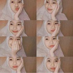 Ootd Hijab, Girl Hijab, Creative Instagram Photo Ideas, Modern Hijab Fashion, First Girl, Galaxy Wallpaper, Stylish Girl, Aesthetic Girl, Kawaii