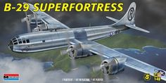 1/48th scale wwii #boeing b-29 #superfortress model kit by #revell monogram ~ 571,  View more on the LINK: http://www.zeppy.io/product/gb/2/152271543638/