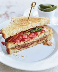 Meat Loaf CLub sandwiches from F! Josey favorite!