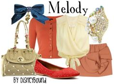 Disney Clothing - Melody, The Little Mermaid