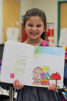 Kindergarten Smiles: Kindergarten Poetry Journals