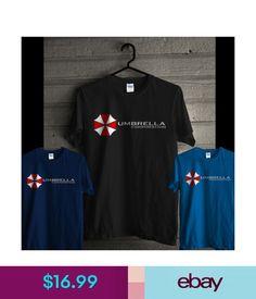 d5ead080 T-Shirts Rare! Umbrella Corporation Logo Tee Resident Evil Stars Racoon Men  Black T Shirt #ebay #Fashion