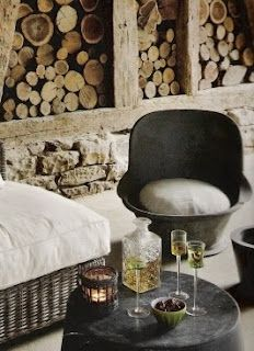 Rustic wall #decor #design #interiordesign