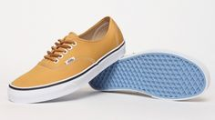 Vans Authentic Brushed Twill - Yellow