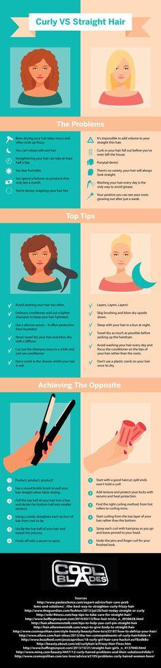 nice Reinventing Neesha: Curly vs Straight Hair