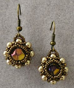 Linda's Crafty Inspirations: Pearl Earrings