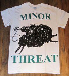 MINOR THREAT Tシャツ BIG PRINT