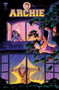 Archie #7 Cover A by Veronica Fish