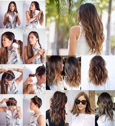 Sposób na POGNIECIONE NATURALNE FALE... I to bez CIEPŁA więć nie... Long Hair Styles, Beauty, Long Hairstyle, Long Haircuts, Long Hair Cuts, Beauty Illustration, Long Hairstyles, Long Hair Dos