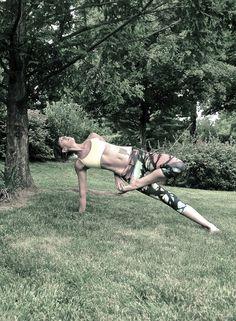 Visiting Kasyapa in the front yard :) » Yoga Pose Weekly