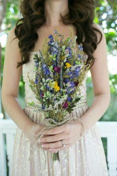 Late summer dried flowers