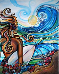 Surf Art ...by Colleen Wilcox