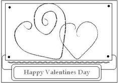 Valentine Card Sketch 2009 created by Noella Arsenault