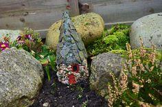 Fairy House, Gnome House, Elf House, Pixie House, Miniature garden ornament
