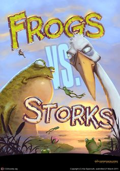 Frogs Vs. Storks by Kai Spannuth | 2D | CGSociety