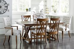 Mattie Lu is the best place to buy Amish furniture, home decor & outdoor living! Create the home where you love to live with solid wood furniture, outdoor furniture & decor made in USA by artisans. Dining Room Furniture Sets, Amish Furniture, Solid Wood Furniture, Dining Room Sets, Furniture Ideas, Trestle Dining Tables, Dining Chairs, Wood Chairs, Wood Tables
